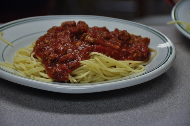 Spaghetti and song